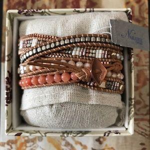 Jewelry - Nakamol Chicago wrap bracelet